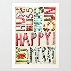 My Happy Life Art Print