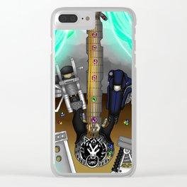 Fusion Keyblade Guitar #177 - Fenrir & Fenrir X Clear iPhone Case