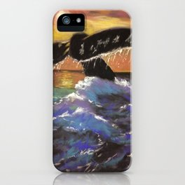 Whales Tale iPhone Case