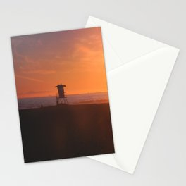 LIFEGUARD TOWER II Stationery Cards