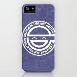 LaughingMan iPhone Case
