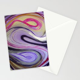 Waves Pink Stationery Cards