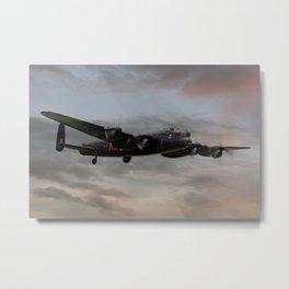 Battle of Britain Memorial Flight - Avro Lancaster Metal Print