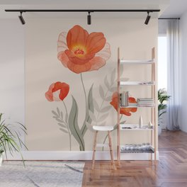 Summer Flowers II Wall Mural