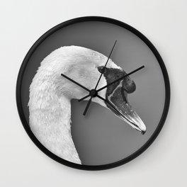 1046375 Mute Swan Wall Clock