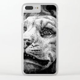 White Witches Spell Clear iPhone Case