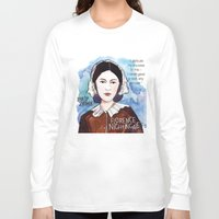 florence Long Sleeve T-shirts featuring Florence Nightingale by The History Witch