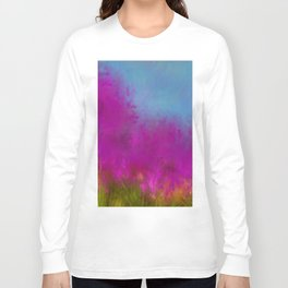 Wildflowers Mod Impressionism Long Sleeve T-shirt