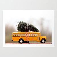 christmas tree Art Prints featuring Christmas Tree by Beverly LeFevre