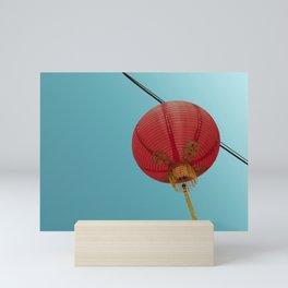 Chinese Lantern in Chinatown LA Mini Art Print