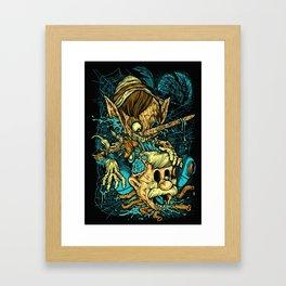 Pinocchio's Revenge Framed Art Print
