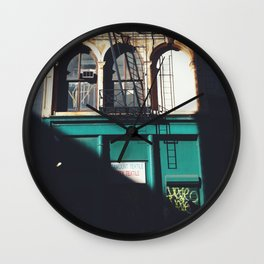 diagonal Wall Clock