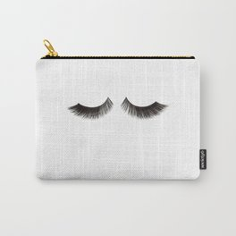 Makeup Print Printable Art Makeup Quotes Makeup Poster Eyelashes Print Fashion Wall Art Fashion Carry-All Pouch
