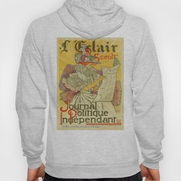 1897 French art nouveau journal advertising Hoody