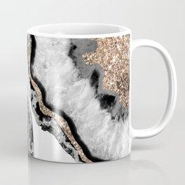 Yin Yang Agate Glitter Glam #7 #gem #decor #art #society6 Coffee Mug