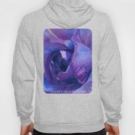 Floribunda Rose - Electric Purple Hoody