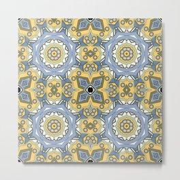 Ethnic Oriental ornament 3 Metal Print