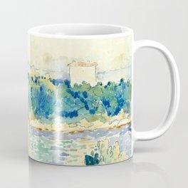 "Henri-Edmond Cross ""Mediterranean Landscape with a White House"" Coffee Mug"