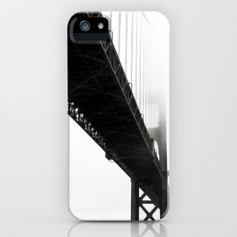 Black Bridge iPhone Case