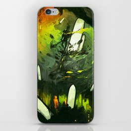 Where All Started Where All Ends iPhone Skin
