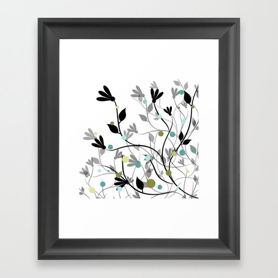 Blissful Breeze Framed Art Print