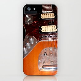 My yellow Orange Classic Electric Guitar iPhone Case