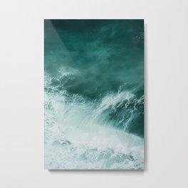 Ocean Roar Metal Print