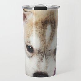 husky puppy. Travel Mug
