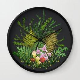 Bog Bouquet Wall Clock