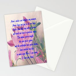 Mothers Day Azaleas Stationery Cards