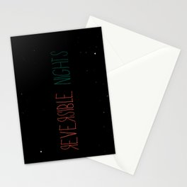 Reversible Nights Stationery Cards