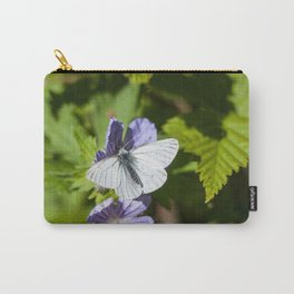 White Moth Photography Print Carry-All Pouch