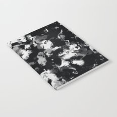 Shades of Gray and Black Oils #1979 Notebook