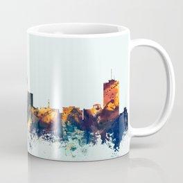 Fresno California Skyline Coffee Mug