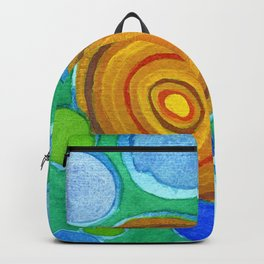Stones under Water Backpack