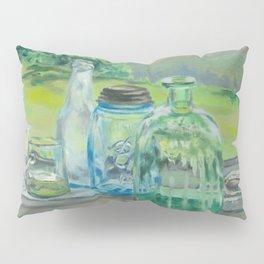 Bottle Still-Life Pillow Sham