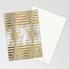 Marble and Gold Pattern #2 Stationery Cards