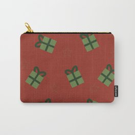 Gifts and stars - red and green Carry-All Pouch