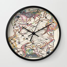 Dissection Point Wall Clock