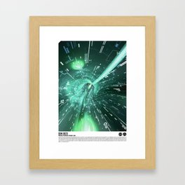 Daydreams Like Mainframes 001: Interface Ethernet Zero Framed Art Print