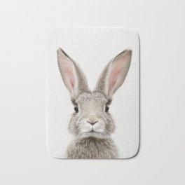Bunny Portrait Bath Mat
