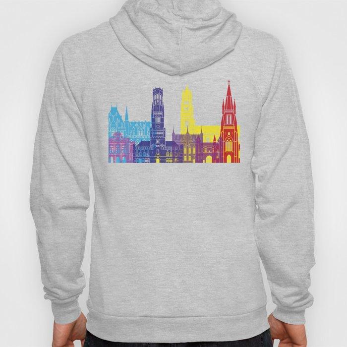 Bruges skyline pop Hoody