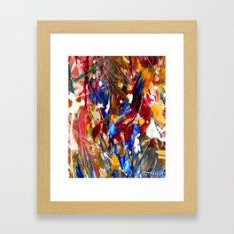 ABSTRACT ART BY TONY HATTEN Framed Art Print