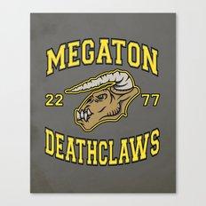 Megaton Deathclaws Canvas Print