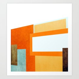 Compose #abstract #painting Art Print