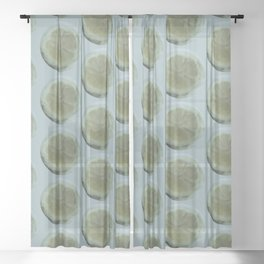 Slice of Lemon – Watercolour Sheer Curtain