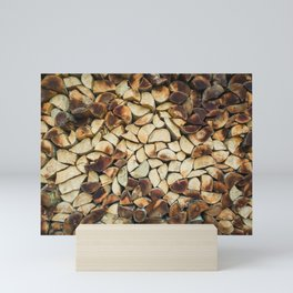 logs Mini Art Print