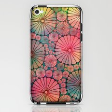 Abstract Floral Circles iPhone & iPod Skin