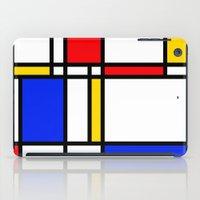 mondrian iPad Cases featuring Mondrian by The Wellington Boot