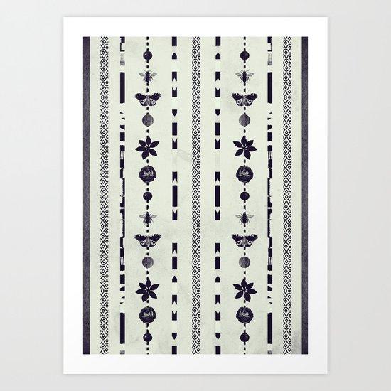 DG Floral Pattern 1 Art Print
